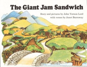 On The Giant Jam Sandwich